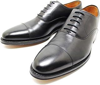 [ジャランスリウァヤ] 98317 内羽ストレートチップ レザーソール BLACK ビジネス/ドレス/紐靴/革靴/メンズ