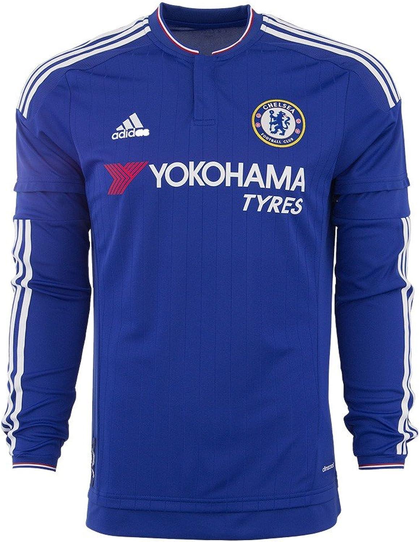 Adidas Chelsea FC Home Long Sleeve Jersey-cheBlau B012XPQ2E2  Exportieren