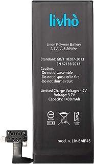 livhò® Baterìa de Repuesto Compatible con iPhone 4S / 1430 mAh | SIN ciclos de Recarga |
