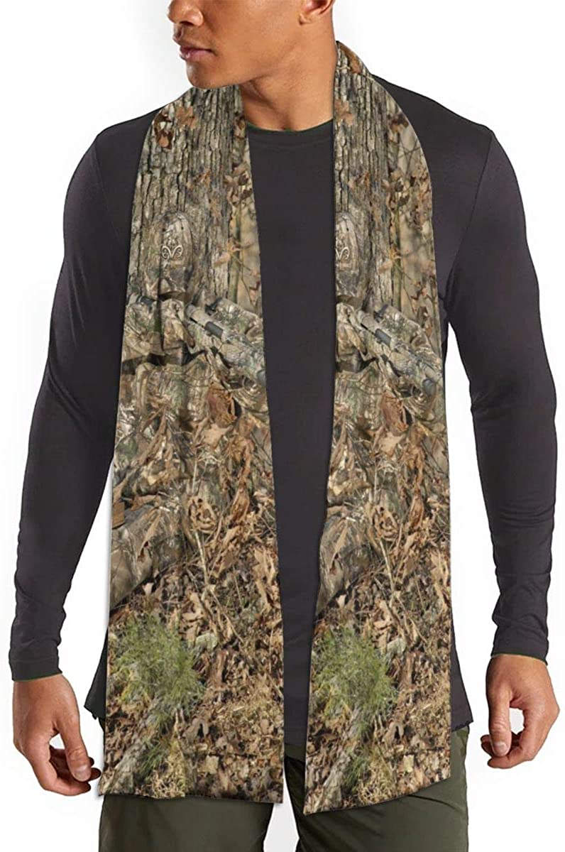Fall Winter Scarf For Men/Women,Hunting Camouflage Fashion Long Scarf Warm Soft Shawl Wrap Scarves Gifts