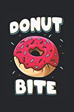 Donut Bite: Divertida libreta con forro Donut Liebahber regalos (formato A5, 15, 24 x 22, 86 cm, 120 páginas) (Spanish Edi...