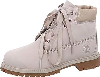 حذاء Timberland Kids نسائي مقاوم للماء 15.24 سم (للأطفال الصغار)