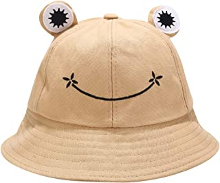 Mommy and Me Frog Bucket Hat Cute Green Froggy Hats Kids Froggie Cap Teen Gifts for Girl