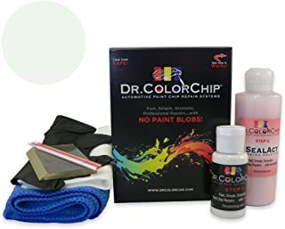 Dr. ColorChip Ford All Other Models Automobile Paint - Oxford White YZ/M6466 - Squirt-n-Squeegee Kit