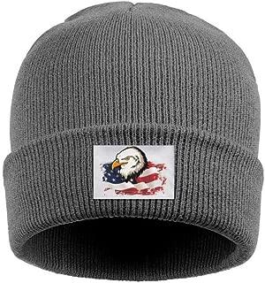 american eagle knit trapper hat
