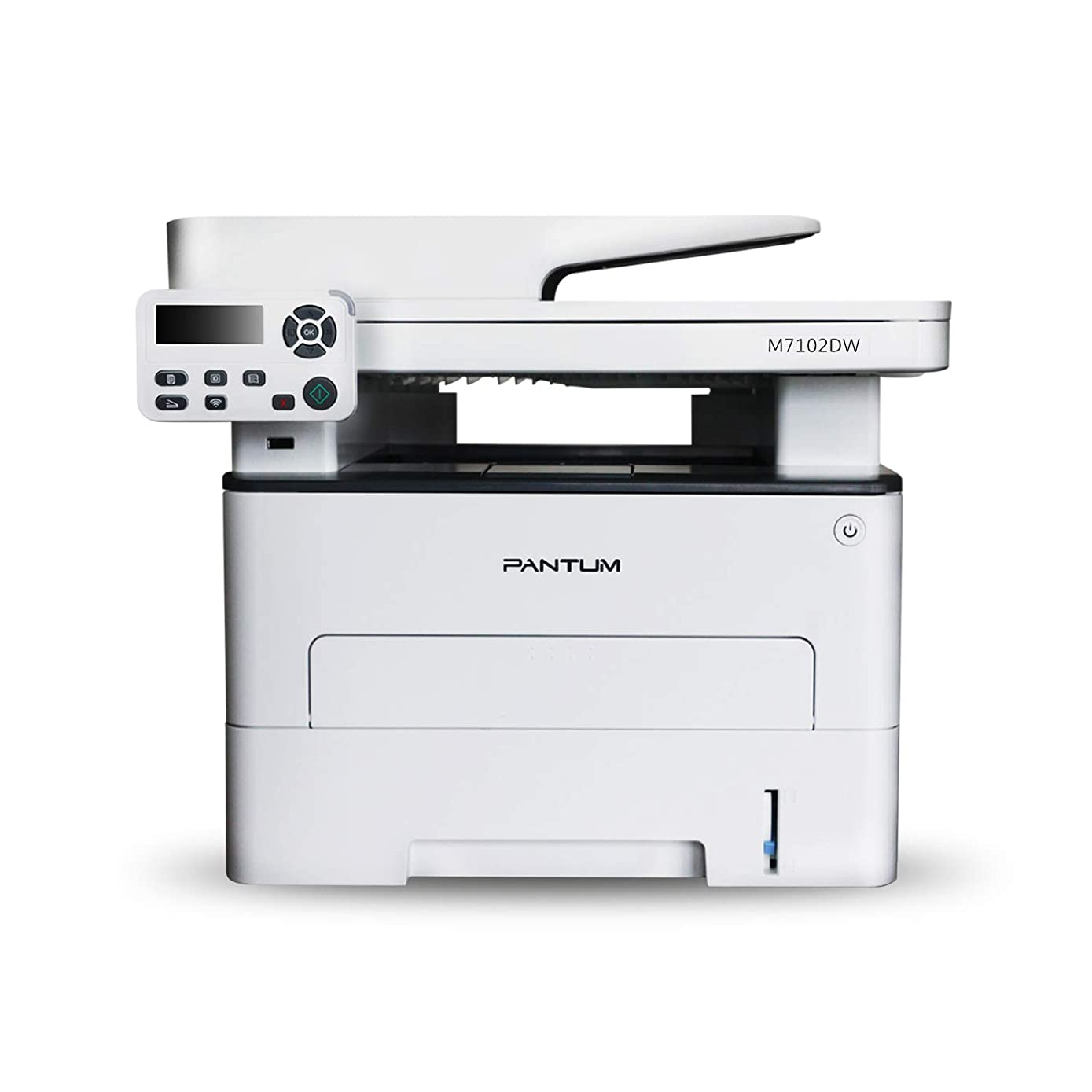 Pantum M7102DW Monochrome Laser Multifunction Printer with Copier Scanner, High Print and Copy Speed, Auto-Duplex Printing, Wireless Networking & USB 2.0
