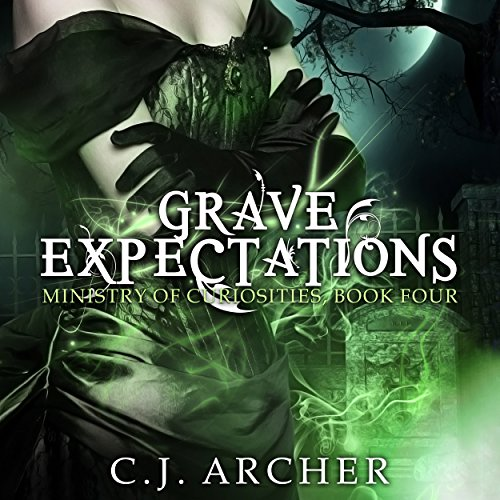 Grave Expectations     The Ministry of Curiosities, Book 4              By:                                                                                                                                 C. J. Archer                               Narrated by:                                                                                                                                 Shiromi Arserio                      Length: 7 hrs and 11 mins     295 ratings     Overall 4.6