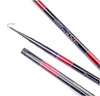 3.6M 4.5M 5.4M 6.3M Stream Fishing Rod Carbon Fiber Telescopic Fishing Rod Ultra Light Carp Fishing Pole Hand Rod