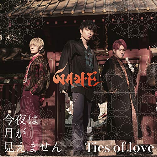 [single]今夜は月が見えません/Ties of love – WAVE[FLAC + MP3]