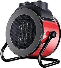 HUANXA Mini Calentador De Patio Electrico Escritorio Ventilador, 3000W Estufa De Terraza Calor Rápido Protección contra Sobrecalentamiento Calentador De Cerámica Portátil Calefactor-3000W
