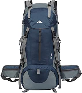 Hiking Backpack 50L Waterproof Camping Backpack with Rain Cover for Travel
