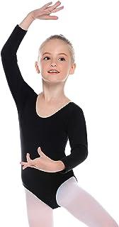 Hawiton Maillot de Gimnasia Ritmica niña 2-12 Años,algodó