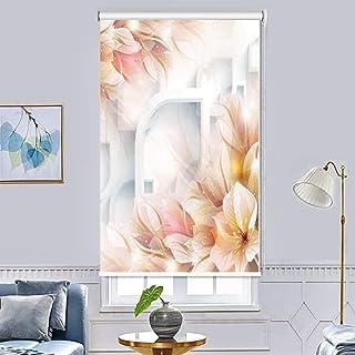 ستائر تعتيم ملتفة عازلة بتصميم مطبوع لصورة ثلاثية الابعاد لغرفة النوم وغرفة المعيشة والمكتب والمنزل