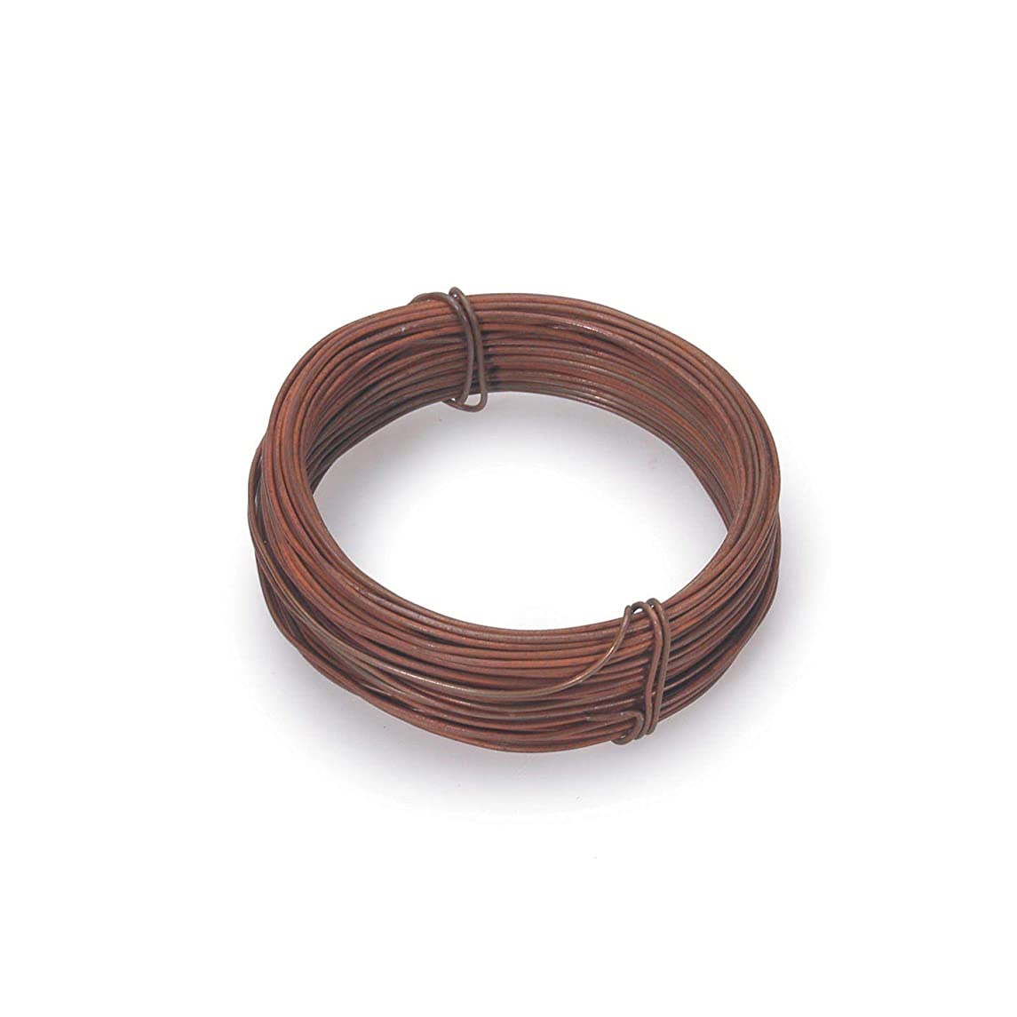 Bulk Buy: Darice DIY Crafts Rusted Wire Number 22 30 feet (3-Pack) 6551-55