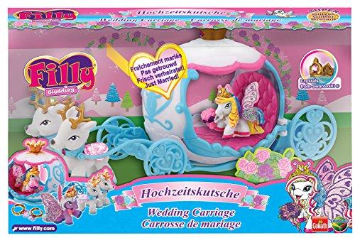 Filly 33246 - Wedding Glitzer Hochzeitskutsche