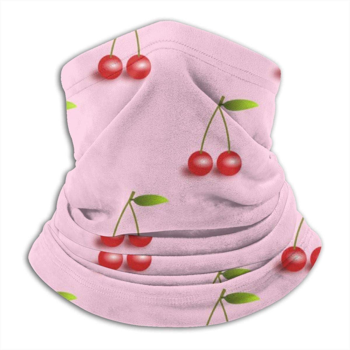 Women Men Kids Neck Gaiter Warmer Half Balaclava Windproof Face Mask