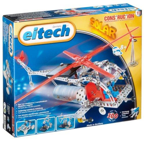 Eitech 00073 - Metallbaukasten Solar Deluxe 5 Modelle