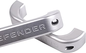 Aluminum alloy Car Interior Door Grab Handle Frame Trim For Land Rover Defender 110 90