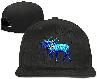 Elk - Colorado Flag Baseball Cap Men Women Flat Brim Adjustable Classic Hip-Hop Hat