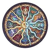 QKKJ 1.000 Puzzle per Adulti, Puzzle per Famiglie, Puzzle Rotondi dodici Costellazioni, Giocattoli Creativi Bel Regalo