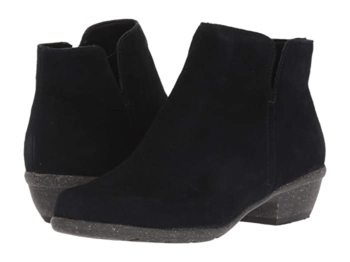 Clarks  Wilrose Frost (Black Suede) Womens  Shoes