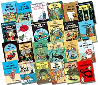 Tintin Collection of Full Sized Hardcovers - 24 Titles