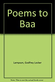 Poems to Baa