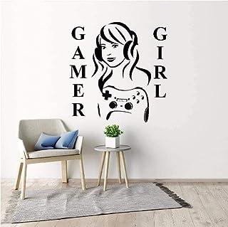 Décoration de la maison Sticker mural autocollant intérieur Gamer 60 * 60Cm
