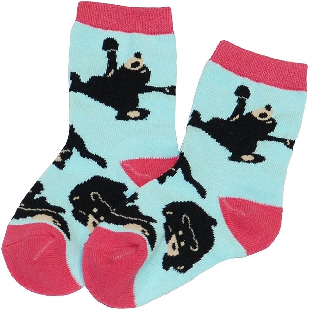 Animal World - Bear Bearly Awake Kid's Socks