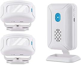 Nineleaf 5 Mode Motion Sensor Alarm with Color Light, Wireless Infrared Home Security System, PIR Motion Detector Alert, E...