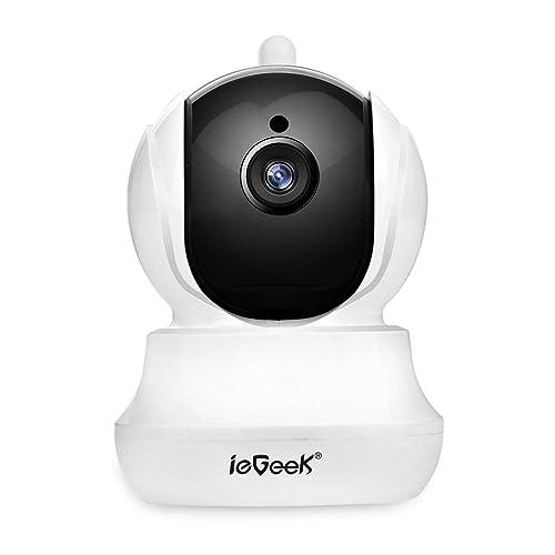 Cámara IP WiFi ieGeek, HD 720P Cámara de Vigilancia Interior, inalámbrica de Seguridad Sistema