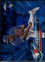 Baseball MLB 2018 Topps Chrome Sapphire #467 Carlos Ramirez RC Blue Jays