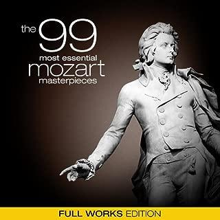 99 most essential mozart masterpieces