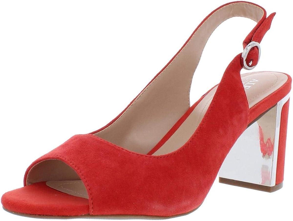 Alfani New sales Superior Womens Florraa Open Toe Slingback Heels