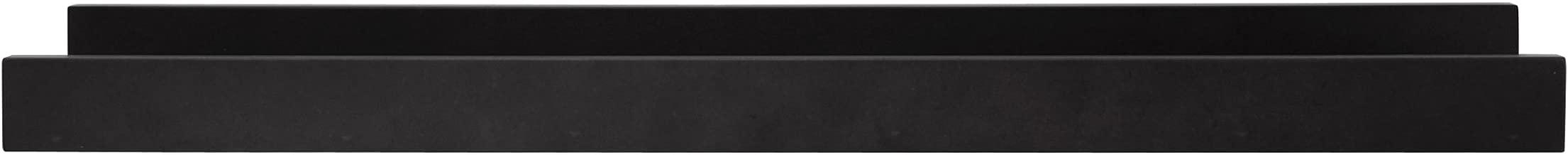 kieragrace Modern Floating-Shelves, 23-Inch by 4-Inch, Black