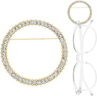 8e04f147a4 TERAISE Gafas Holder Broche Clásico Anillo de Metal de Moda gafas de Sol  Collar de Diseño