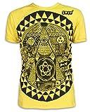 Sure – Camiseta para hombre con ojos de profetesse Yoga Providence amarillo M