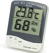Nuevo Digital Termómetro Higrómetro Medidor Temperatura Humedad para Habitación