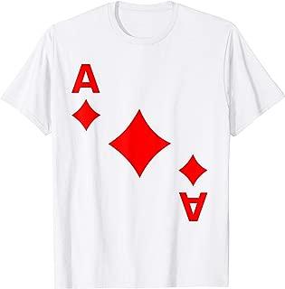 Ace Diamonds Deck Of Cards Halloween Costume Matching Game T-Shirt