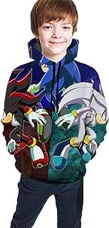 Children Boys Girls 3D Cute Hoodie New Year Hooded Outerwear Pocket Top