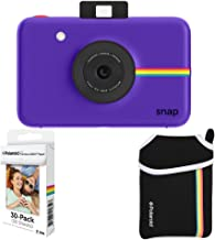 Polaroid Snap Instant Camera + 2x3 Zink Paper (30 Pack) + Neoprene Pouch