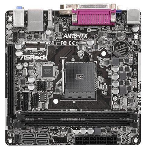 ASRock AM1B-ITX Mainboard Sockel (micro-ATX, DDR3 Speicher, 4x SATA III, 4x USB 3.0)