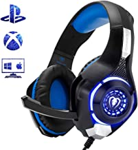 Beexcellent Gaming Headset for PS4 Xbox One PC Mac Controller Gaming Headphone with..