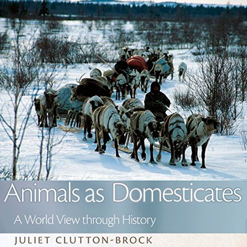 Animals as Domesticates audiobook cover art