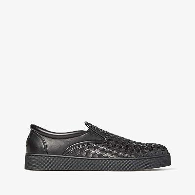 Bottega Veneta Dodger II Slip-On Sneaker (Black) Men