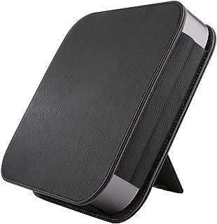 XIHAMA コンパチブル Apple Mac mini 保護ケース 全面保護 スマートカバー 高級レザー 耐衝撃 Apple Mac mini(2018)に対応 (黒)