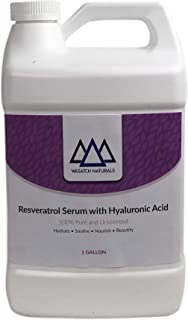 Resveratrol Serum with Hyaluronic Acid 1 Gallon Unscented