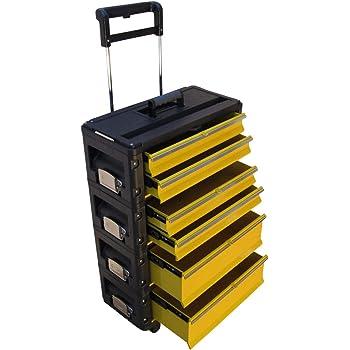 ASS Profi - Caja de herramientas con ruedas (metal, tamaño XL): Amazon.es: Industria, empresas y ciencia