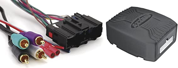 Axxess Metra GMOS-LAN-02 GM/LAN Amplified Integrated Harness for 2006-Up Select GM/Chevrolet Vehicles, Black