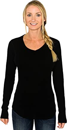 WoolX Women's Merino Wool Tunic Top Midweight Merino Tunic Sweater